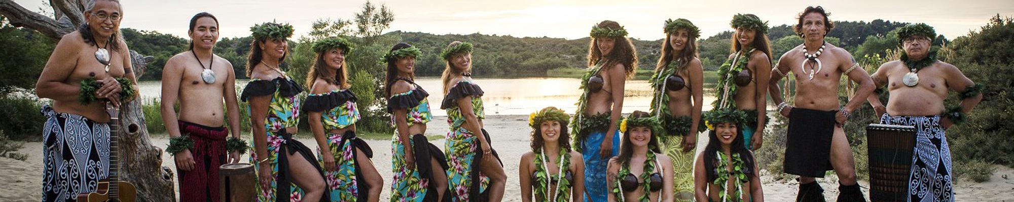 Mai'ana polynesische dansgroep