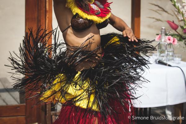 Ori Tahiti Tamure detail